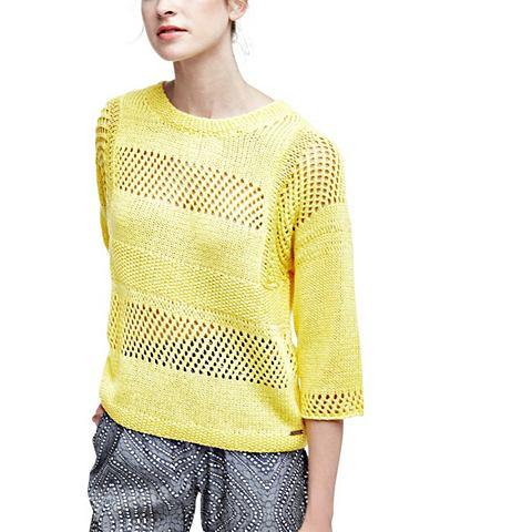 Пуловер ажурный узор с дырочками