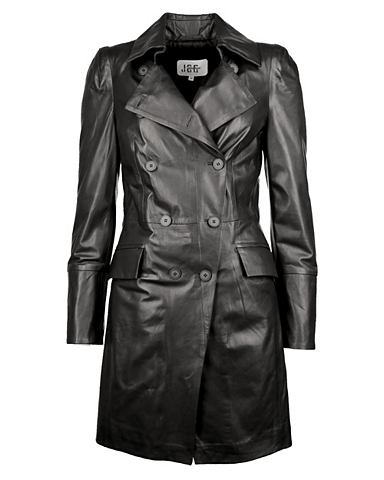 Пальто кожаное с воротник »BR-11...