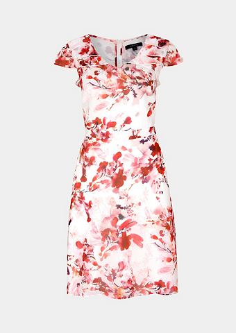 Лёгкий платье с захватывающий цветочны...