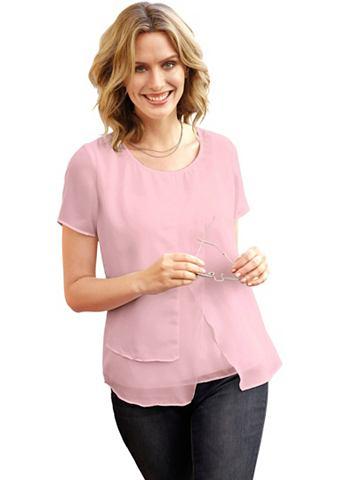 Блуза в асимметричный покрой