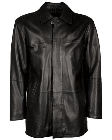Пальто кожаное Herren IK6