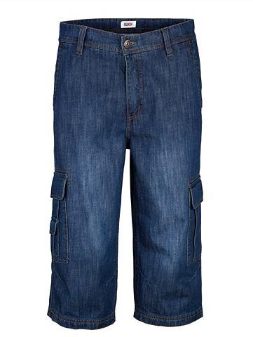 Бермуды джинсовые в Cargotaschen