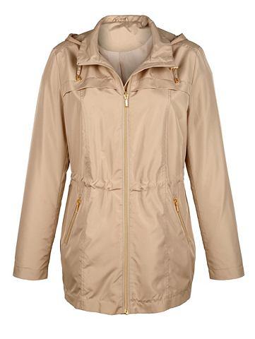 Куртка с goldfarbenen элементы