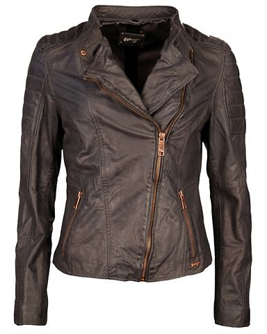 Куртка кожаная »Manduria«