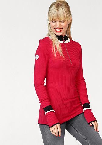 Kanga ROOS пуловер с воротником-стойко...