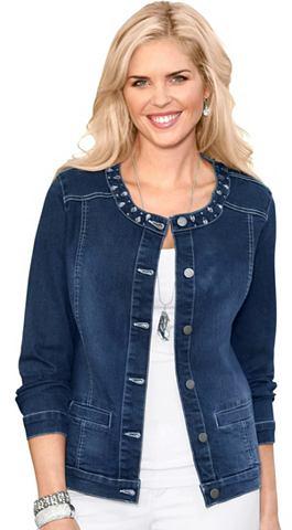 Куртка джинсовая с effektvollen блестя...