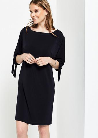 Лёгкий платье с короткая рукавами