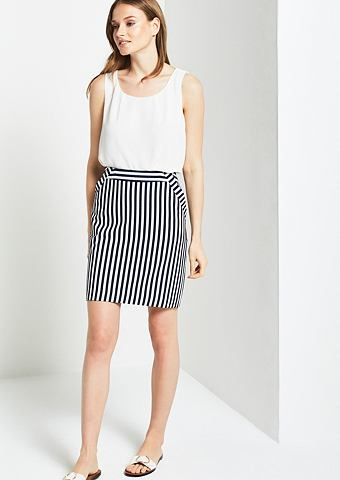 Sportlicher юбка в полосатая