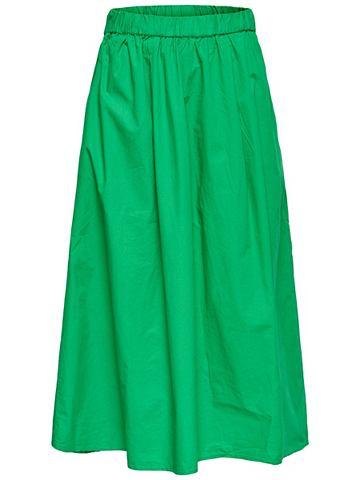 Einfarbig юбка средней длины