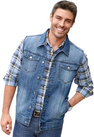 CLASSIC Жилет джинсовый с charakteristischen э...