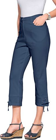 3/4 джинсы с Bindebändern an den ...