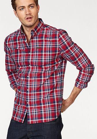 Рубашка в клетку »RAW OXFORD L/S...
