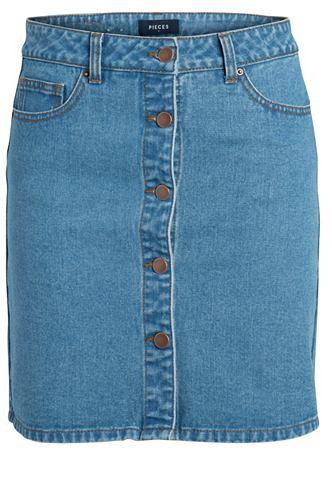 Джинсовый юбка