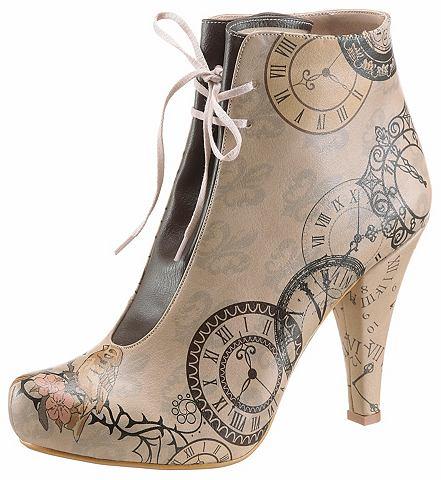 Ботинки на высоком каблуке »Tick...