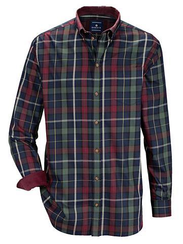 Рубашка с Feincord-Besatz