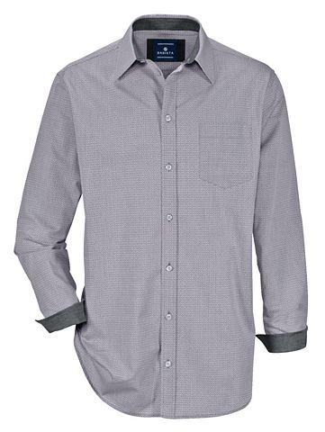 Рубашка с сдержанный Druckmuster