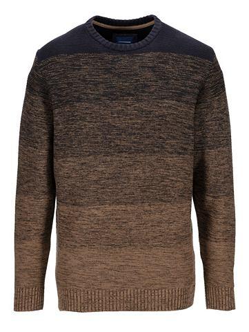 Пуловер с zweifarbigem Streifendessin