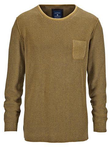 Пуловер в zweifarbiger имитация