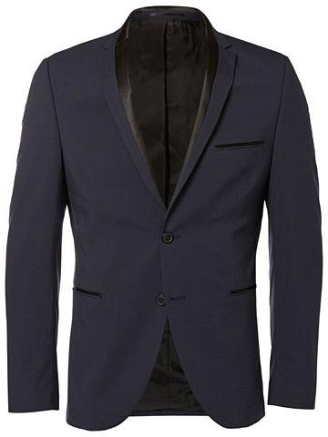 Узкий форма - пиджак с Detail