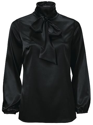 Блузка из шелка с Schluppe