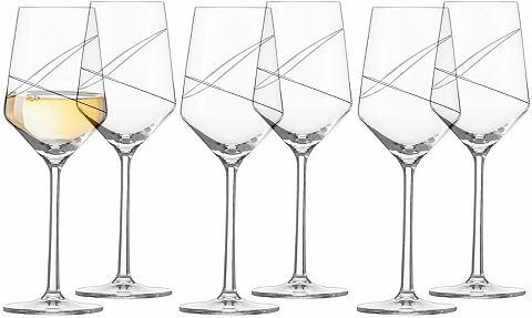 Фужеры для белого вина хрустальные фуж...