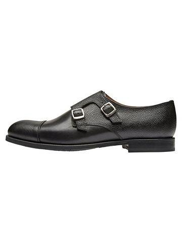 Monk leather - элегантный ботинки