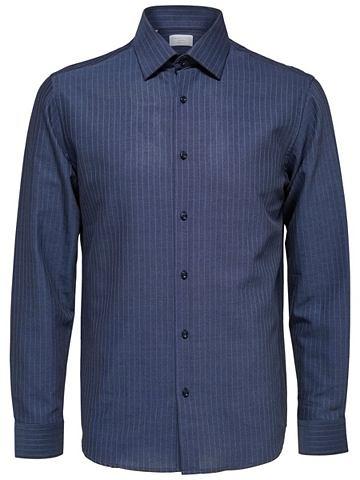 Regular форма - рубашка с классические...