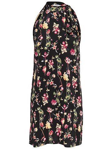 Одноцветный короткое платье