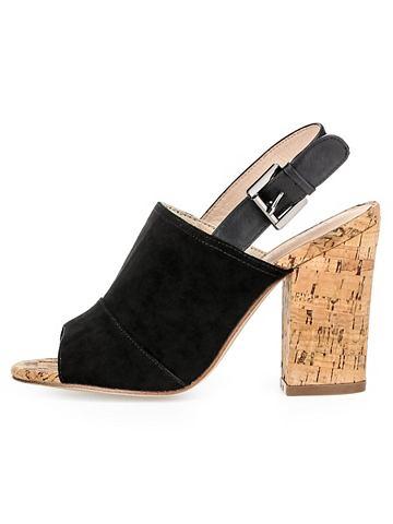 Retro-Pantoletten- сандалии