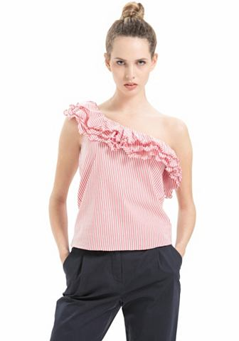 Ad L блузка с рюшами
