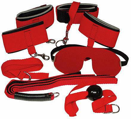 Bad Kitty Fessel-Set »Red Giant&...