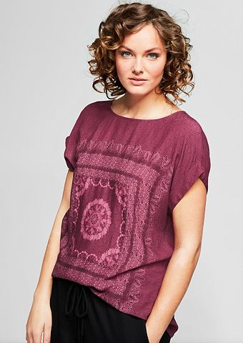 Блуза с узор c орнаментом