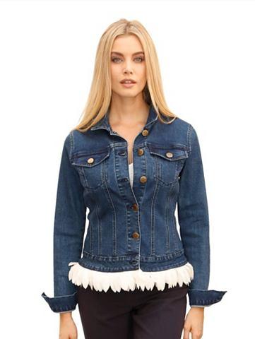 Пиджак джинсовый с Federoptik из шифон...