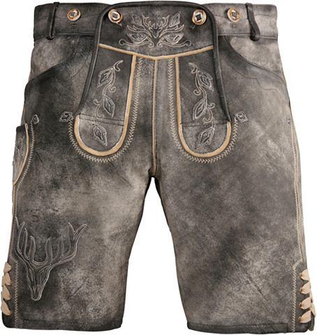 Krüger Buam короткий брюки кожаны...