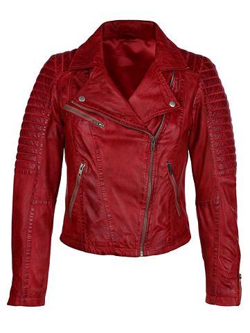 Куртка кожаная в Bikeroptik