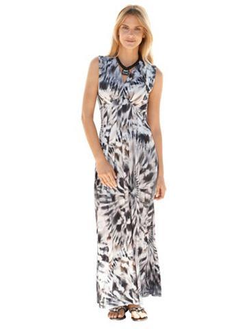 Платье из джерси с графический узор