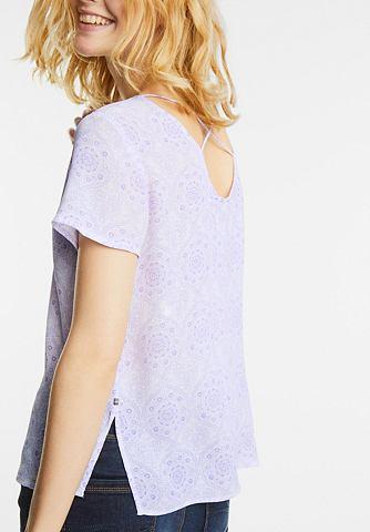 С мелким принтом блуза Raelyn
