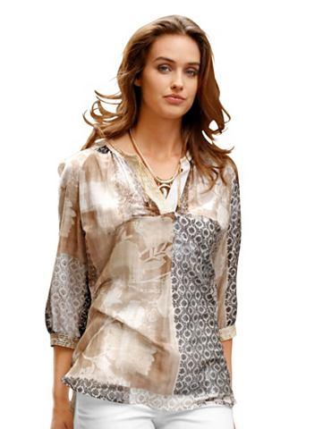 Блуза с Tunikaauschnitt