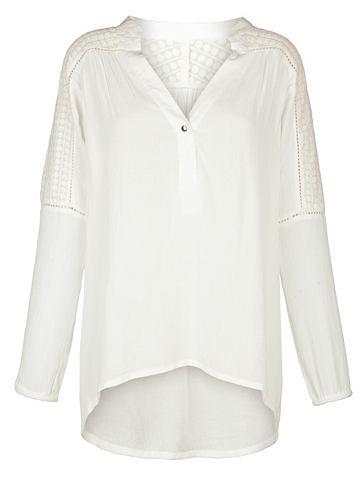 Блуза в lässiger форма