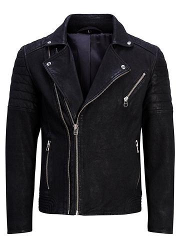 Jack & Jones куртка кожаная