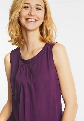 Одноцветный блузка-топ Flavia
