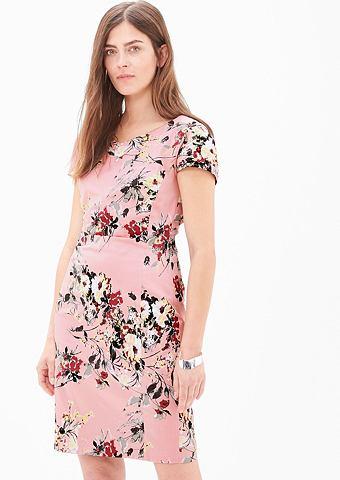 Платье стрейч из сатин