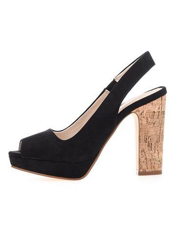 Peeptoe-Slingback- ботинки