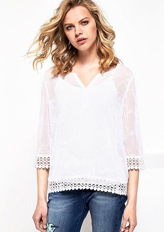 C рукавом три четверти (3/4) блуза из ...