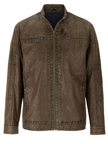 Куртка из искусственной кожи Used Effe...