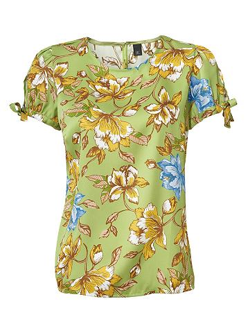 Блузка с набивным рисунком zum Binden ...