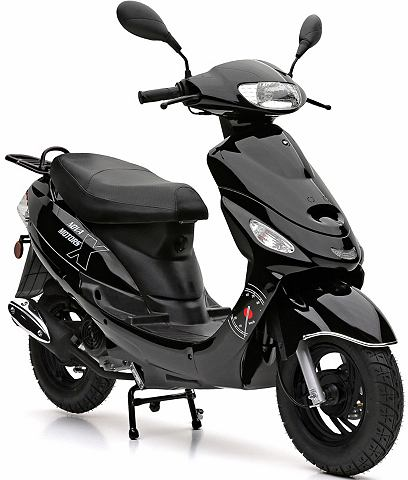 Motorroller 49 ccm 45 km/h черный цвет...