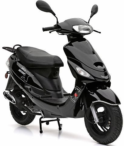 Mofaroller 49 ccm 25 km/h черный цвет ...