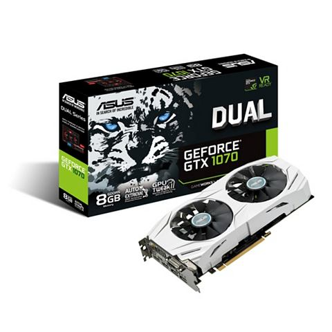 DUAL Nvidia Geforce® GTX 1070 8GB ...