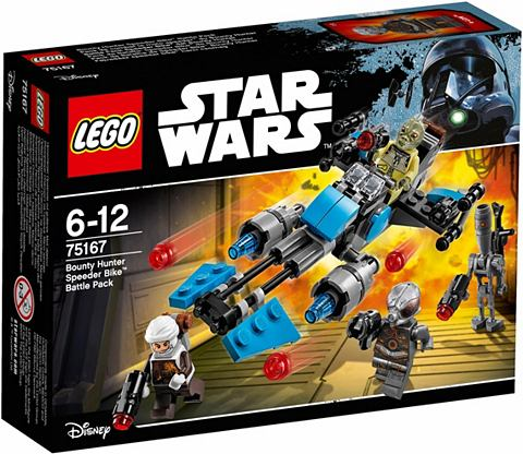 LEGO ® Bounty Hunter Speeder Bike? Batt...